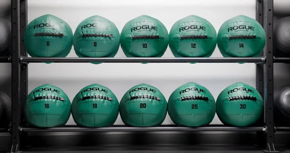 Rogue Fitness Color Medicine Balls green