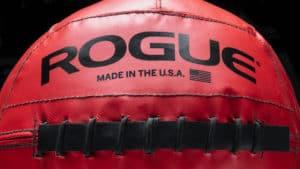 Rogue Fitness Color Medicine Balls red close up
