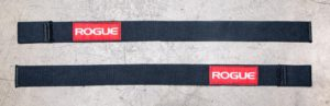 Rogue Ohio Lifting Straps top view