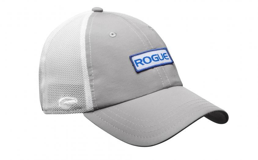 Rogue Ultra Fit Trucker Hat gray white