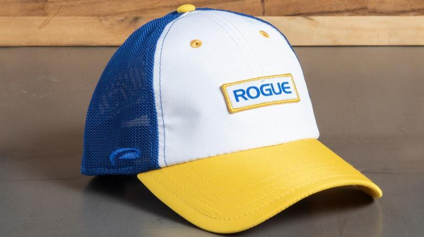 Rogue Ultra Fit Trucker Hat white royal