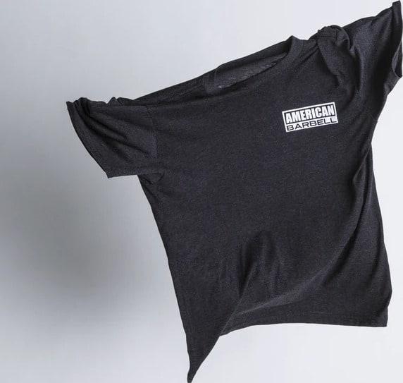 American Barbell Starter T-Shirt flying shirt