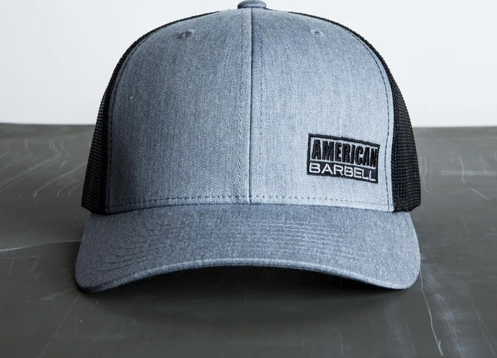 American Barbell Trucker Hat front view
