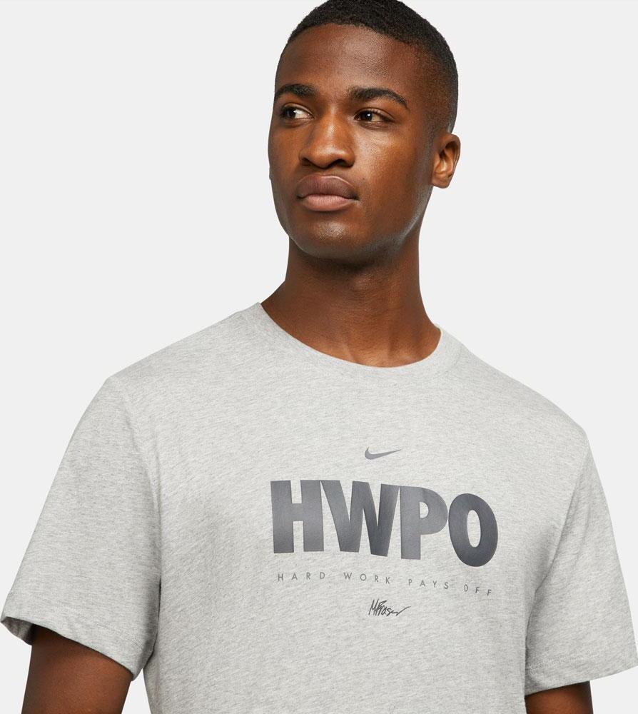 Nike Dri-FIT Mat Fraser HWPO Training T-Shirt Heather Gray worn