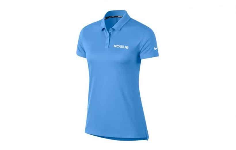 Nike Dri Fit Polo - Womens blue