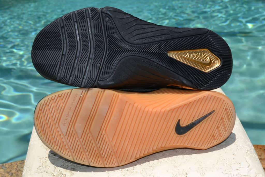 Nike Metcon 7 Versus Nike Metcon 6 Outsole Comparison