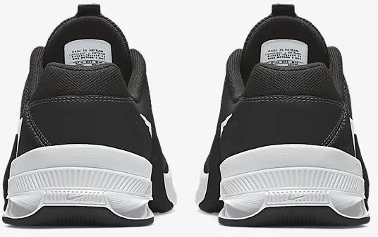 Nike Metcon 7 Men's Black back view pair