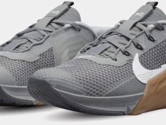 Nike Metcon 7 Men's Grey Gum quarter view left