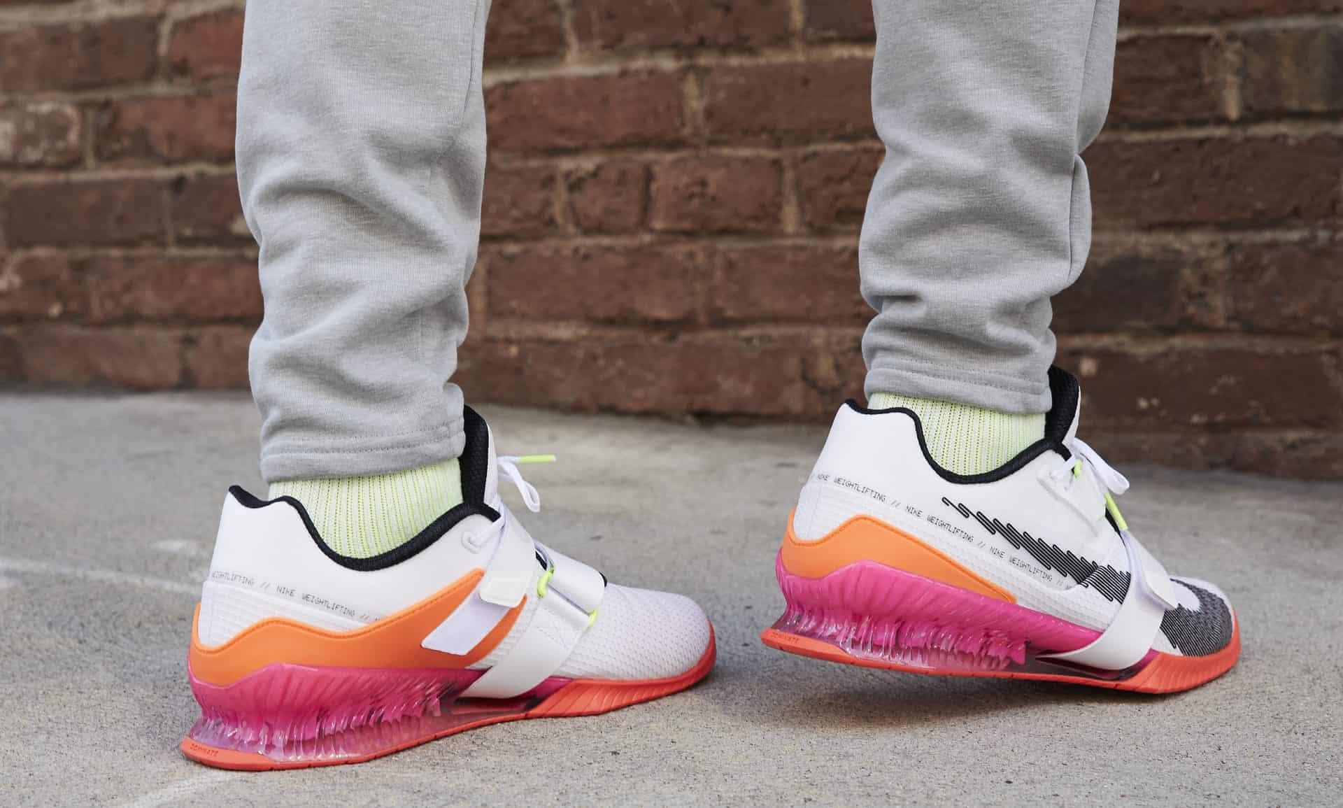 Nike Romaleos 4 SE worn 1
