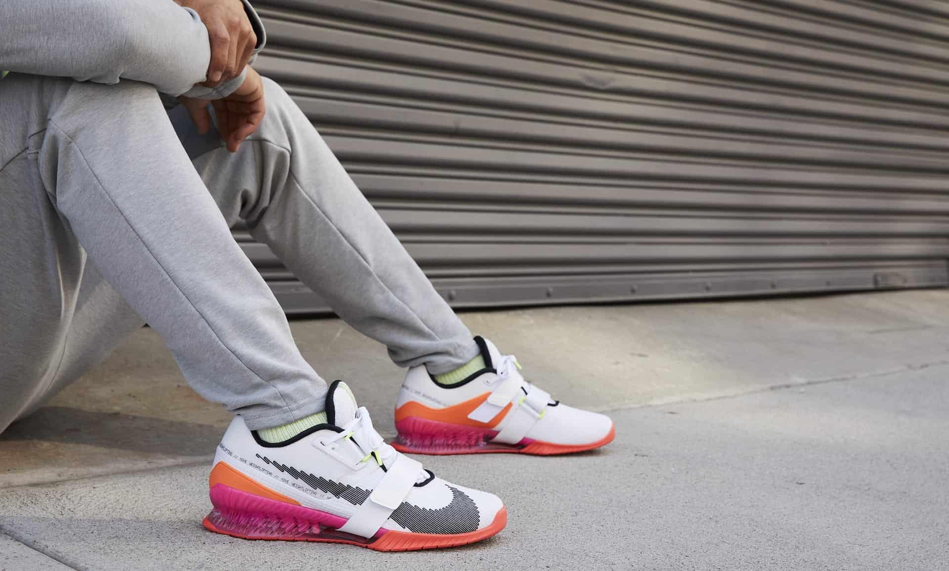 Nike Romaleos 4 SE worn