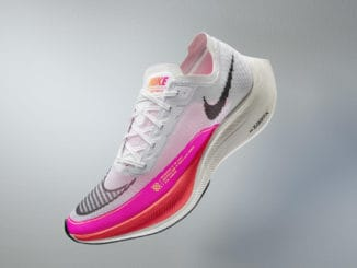 Nike ZoomX Vaporfly NEXT% 2 side view full