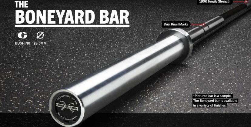 Rogue 28.5MM Boneyard Bars main