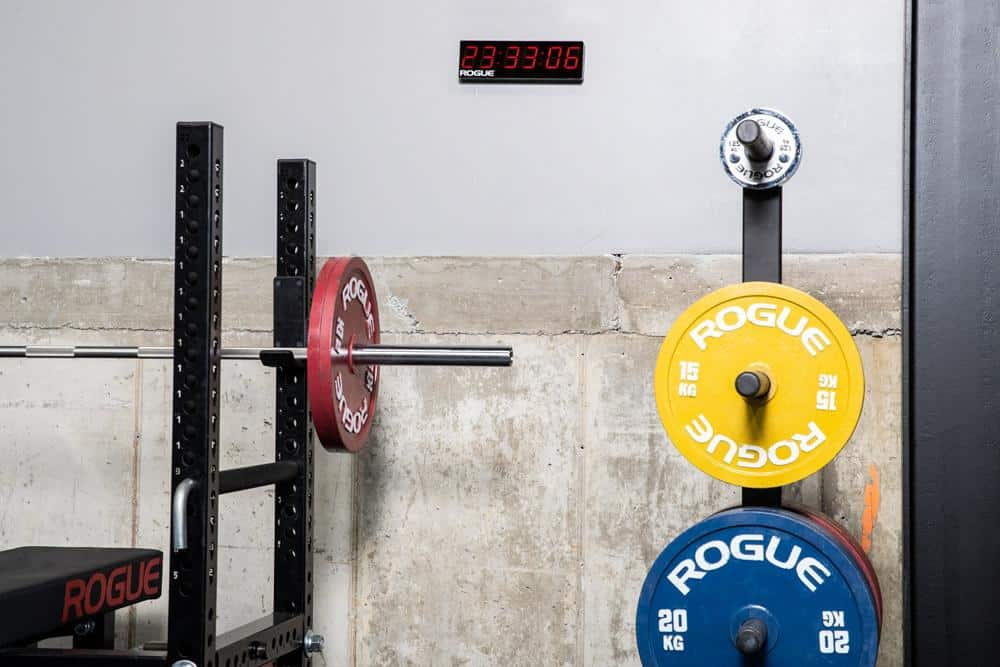 Rogue Home Timer on the wall