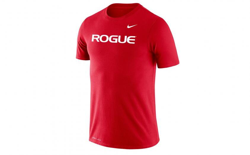 Rogue Nike Dri-Fit Legend 2.0 Tee - Mens full front red