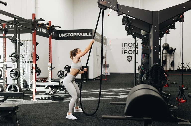 Torque Fitness Endless Rope Trainer XERT gym