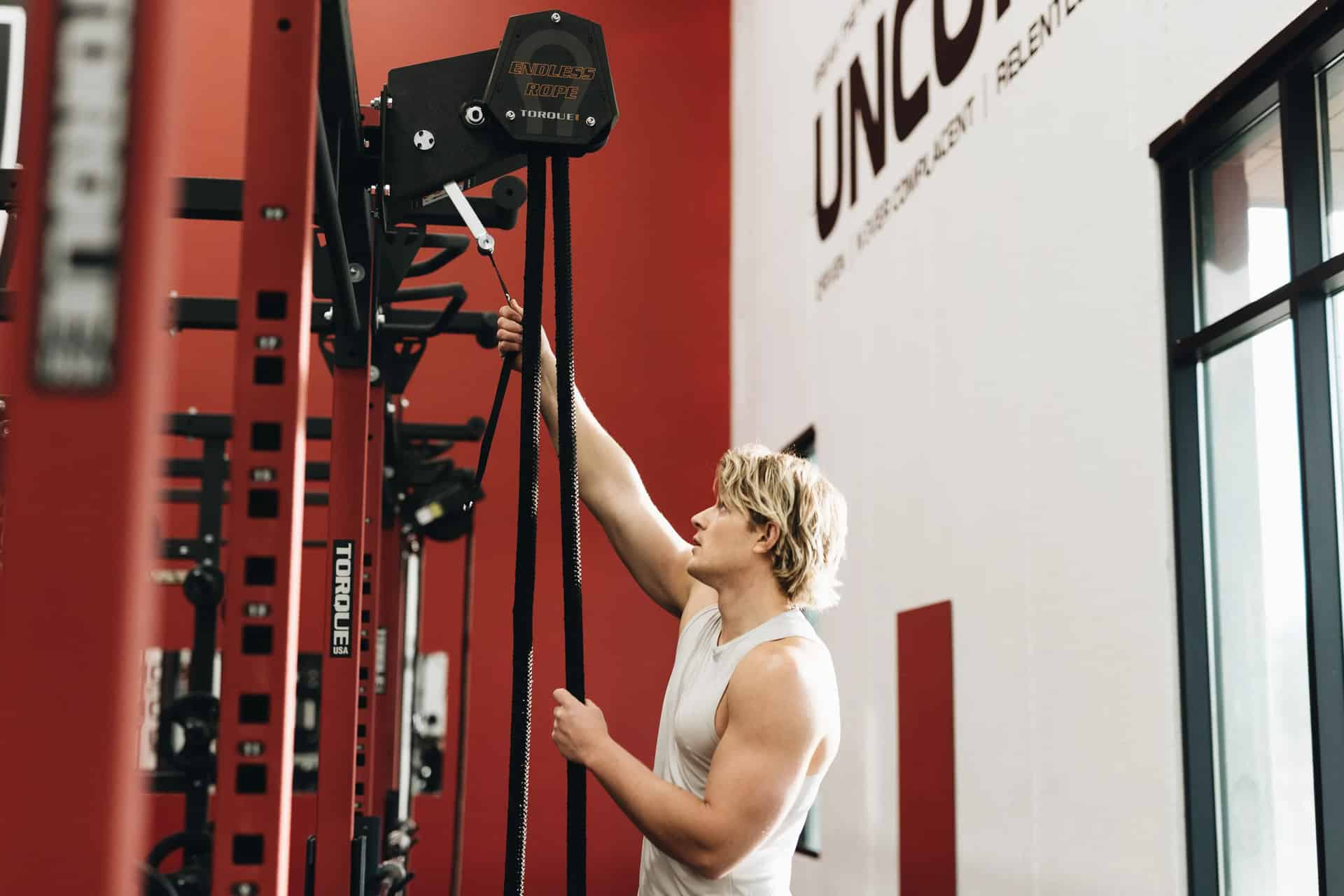 Torque Fitness Endless Rope Trainer limitless mounting