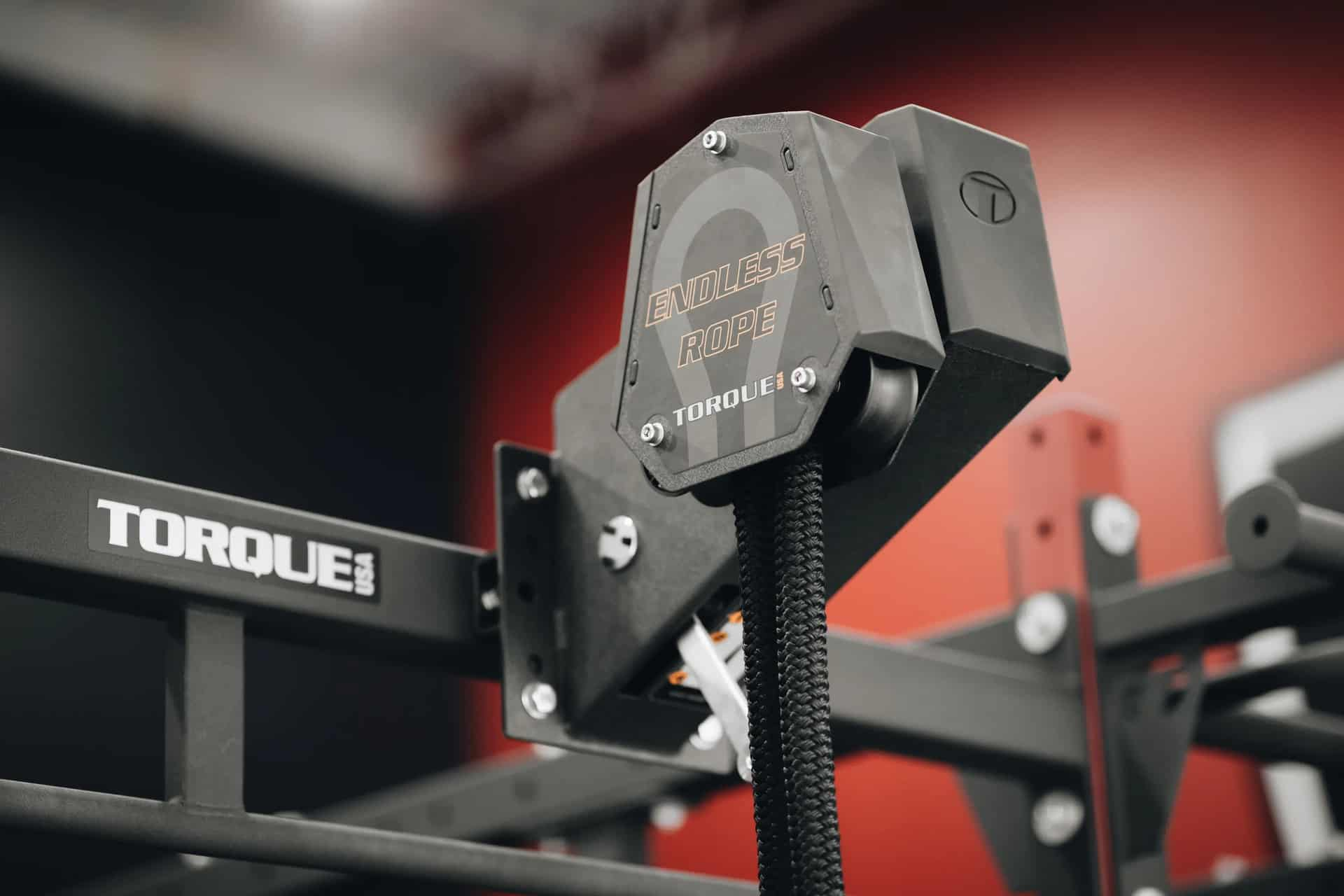 Torque Fitness Endless Rope Trainer pivoting roller