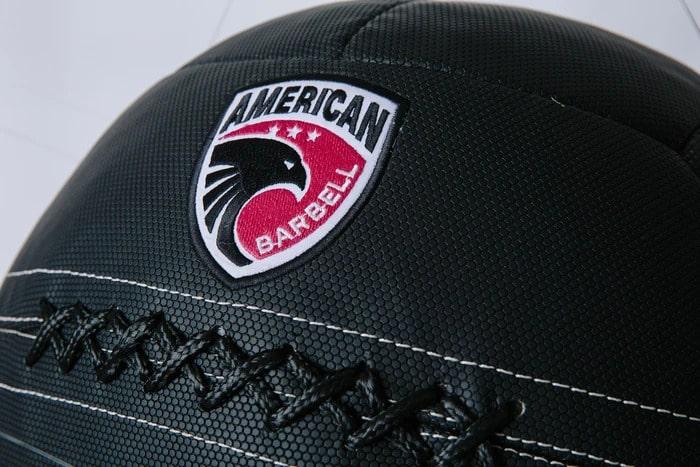 American Barbell Premium Honeycomb Wall Ball detail