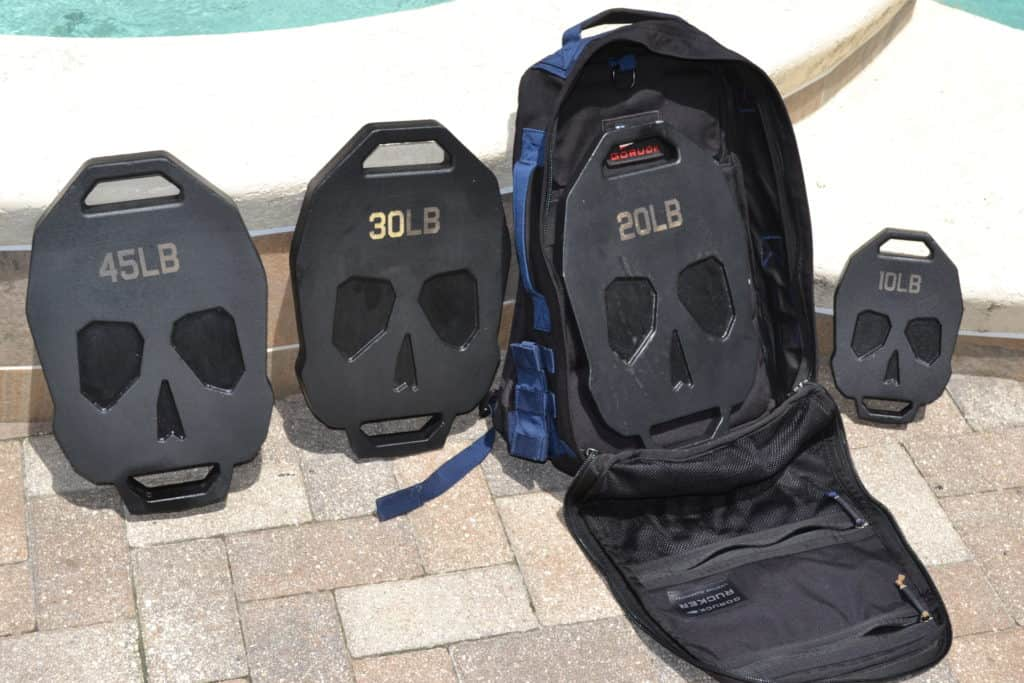All the Bonehead Ruck Weight Plates