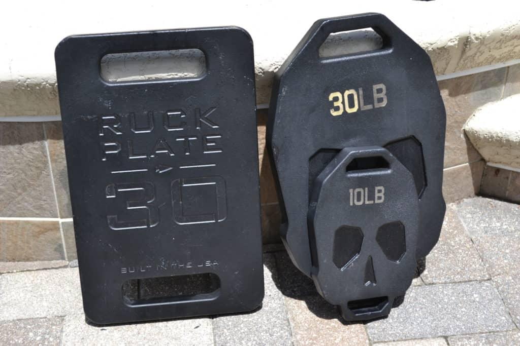 GORUCK Ruck Plate Versus Bonehead Ruck Weight Plate