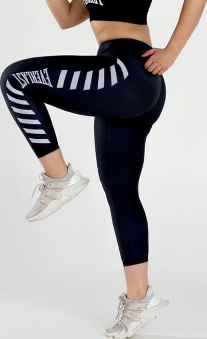 Everlast Womens Colorplay Cropped Legging black