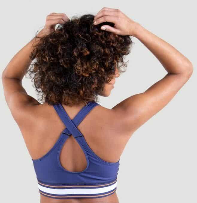 Everlast Womens Colorplay Sports Bra blue