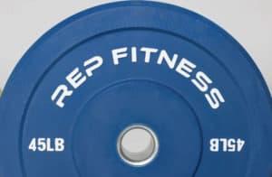 Rep Fitness Color Bumper Plates 45lb