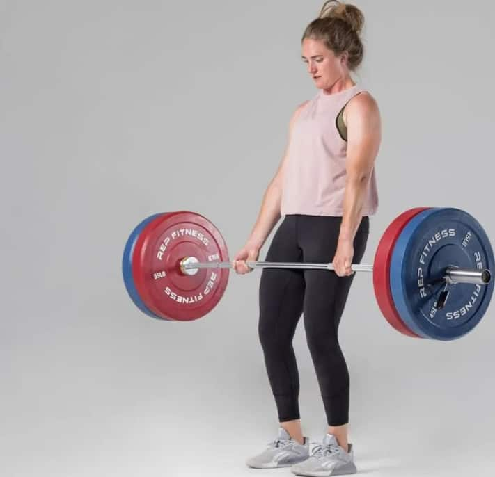 Rep Fitness Color Bumper Plates blue