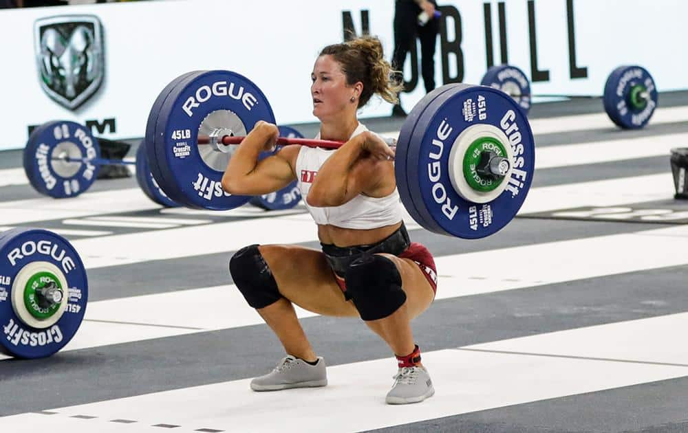 Rogue LB Competition Plates - 2021 Games with an athlete 2