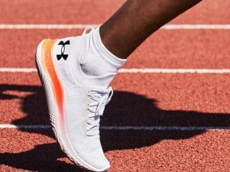 Under Armour Mens UA Flow Velociti SE Running Shoes worn running