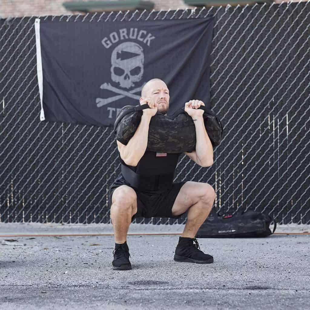 GORUCK Ballistic Trainers - Mid blackout squat