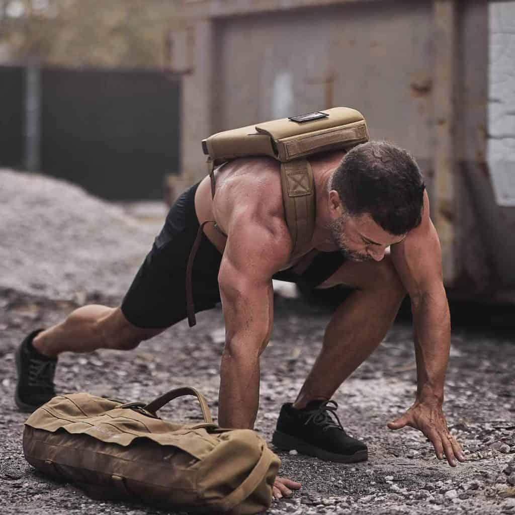 GORUCK Ballistic Trainers lunge black charcoal