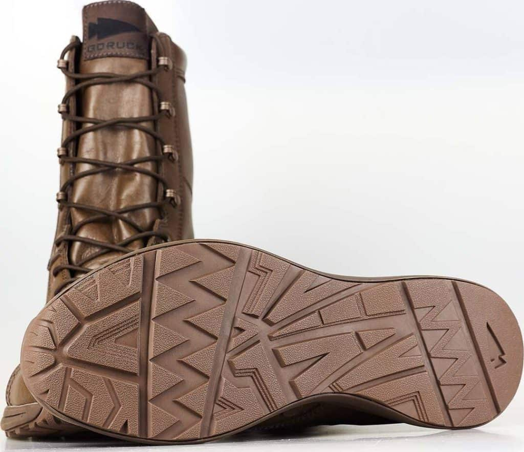GORUCK Heritage Jump Boots outsole