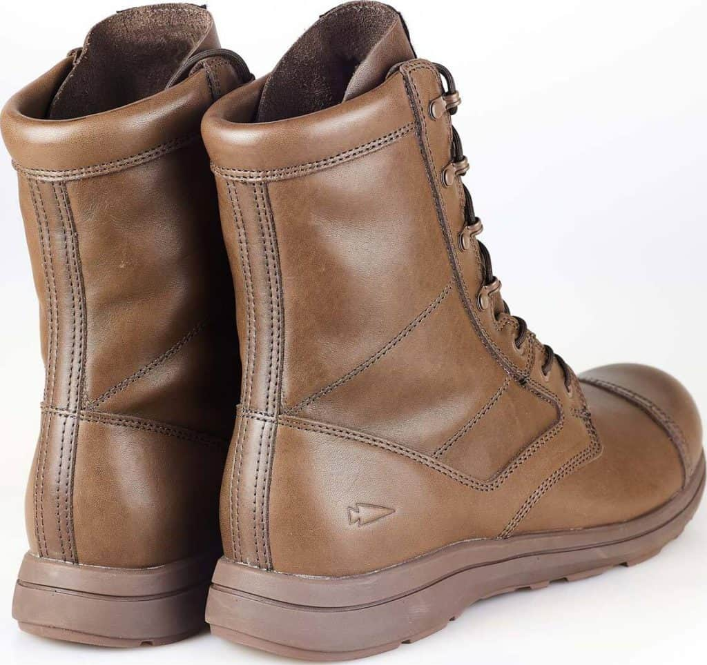 GORUCK Heritage Jump Boots quarter view back pair