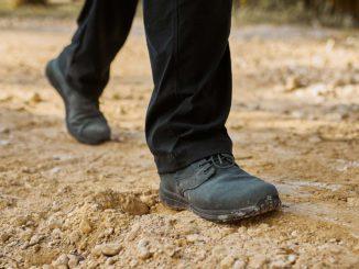 GORUCK Jedburgh Rucking Boots Deception Canvas wolf grey worn 4