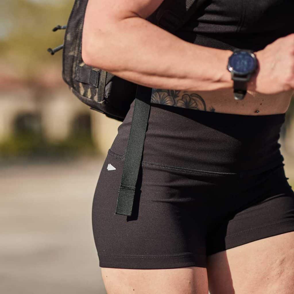 GORUCK Womens Indestructible Squat Shorts details