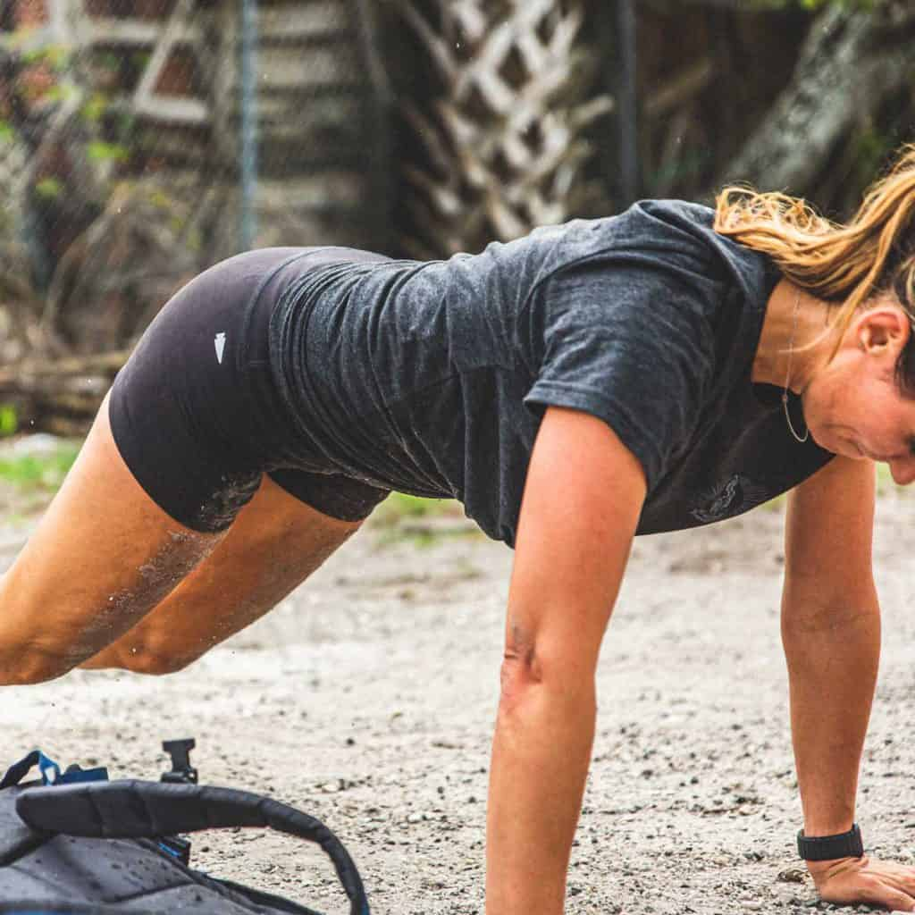 GORUCK Womens Indestructible Squat Shorts push up
