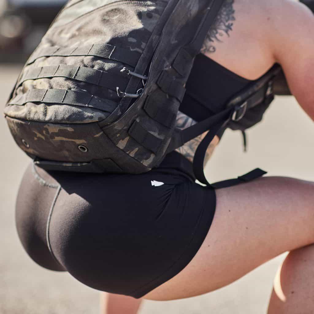 GORUCK Womens Indestructible Squat Shorts squat