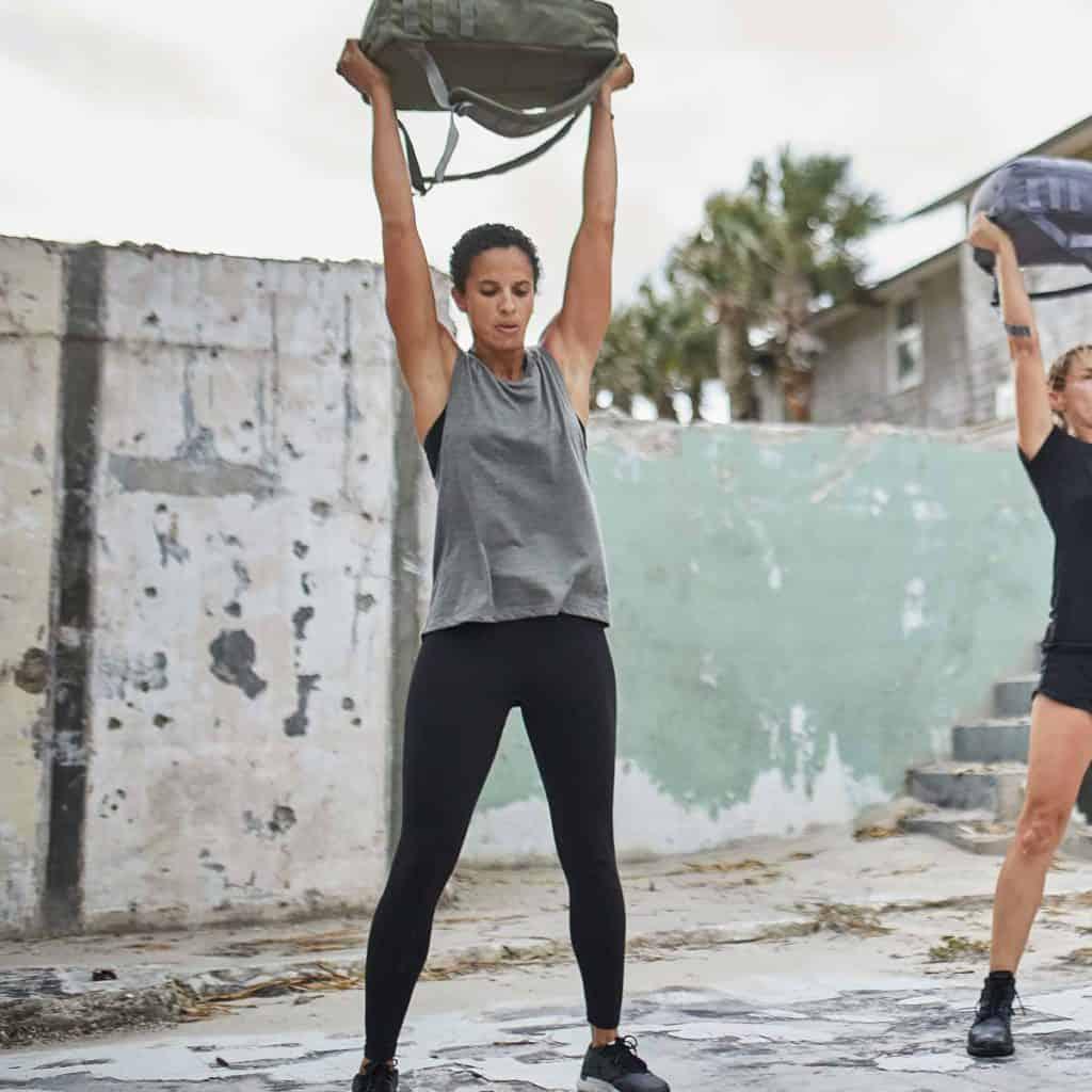 GORUCK Womens Indestructible Tough Leggings ruck overhead