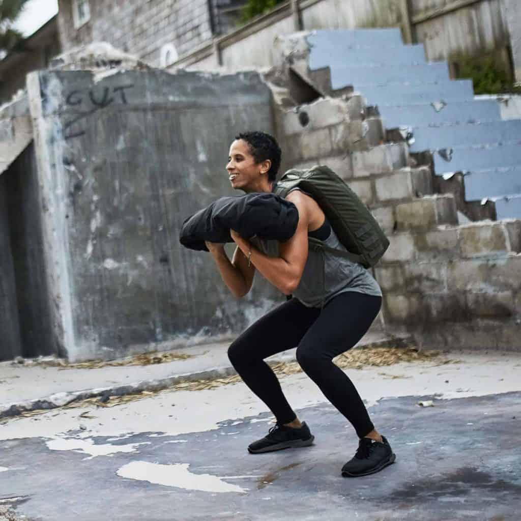 GORUCK Womens Indestructible Tough Leggings squat