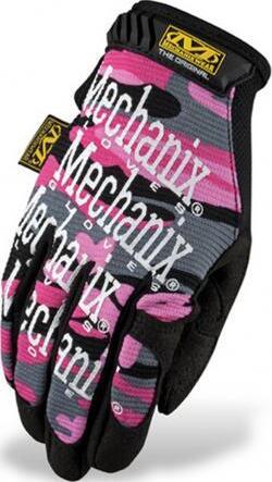 Mechanix Original Womens Gloves - Pink Camo front