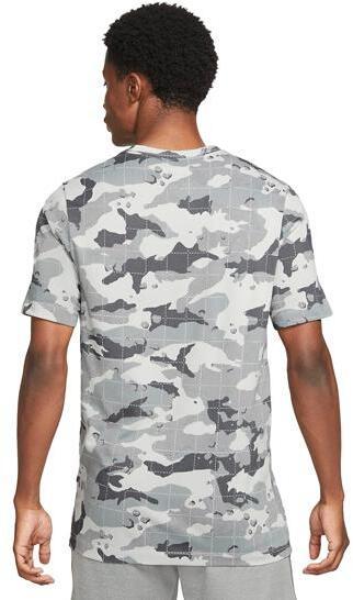 Nike Mens Dri-FIT Camo Training T-Shirt back