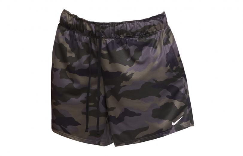 Nike Womens Dri-Fit Pro Shorts camo