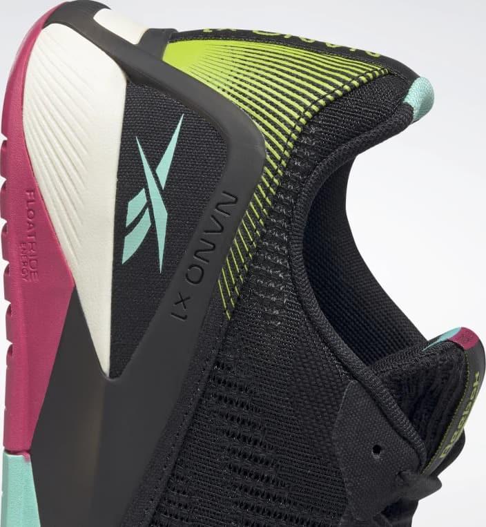Reebok Nano X1 Vegan Mens Training Shoes side heel