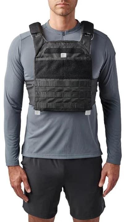 Rogue 5.11 TacTec Trainer Weight Vest black front