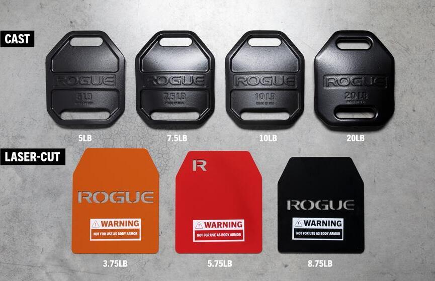 Rogue 5.11 TacTec Trainer Weight Vest cast and laser cut