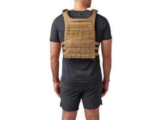 Rogue 5.11 TacTec Trainer Weight Vest kangaroo back