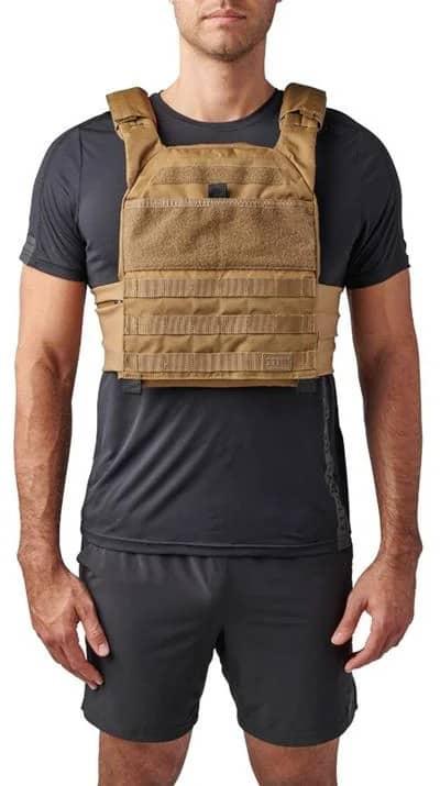 Rogue 5.11 TacTec Trainer Weight Vest kangaroo front