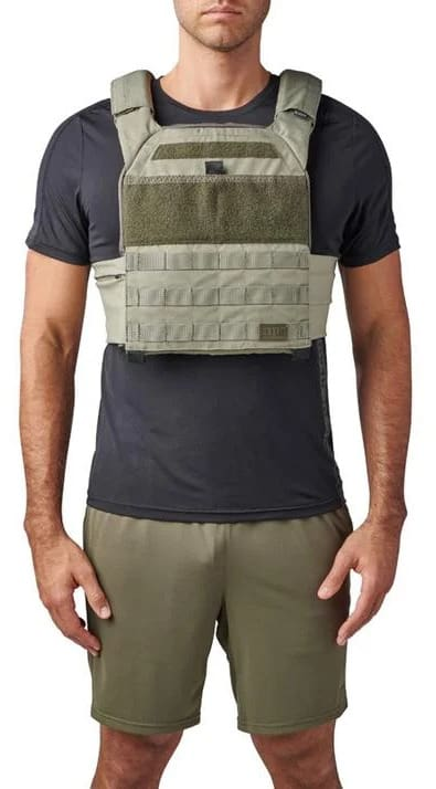 Rogue 5.11 TacTec Trainer Weight Vest phyton front