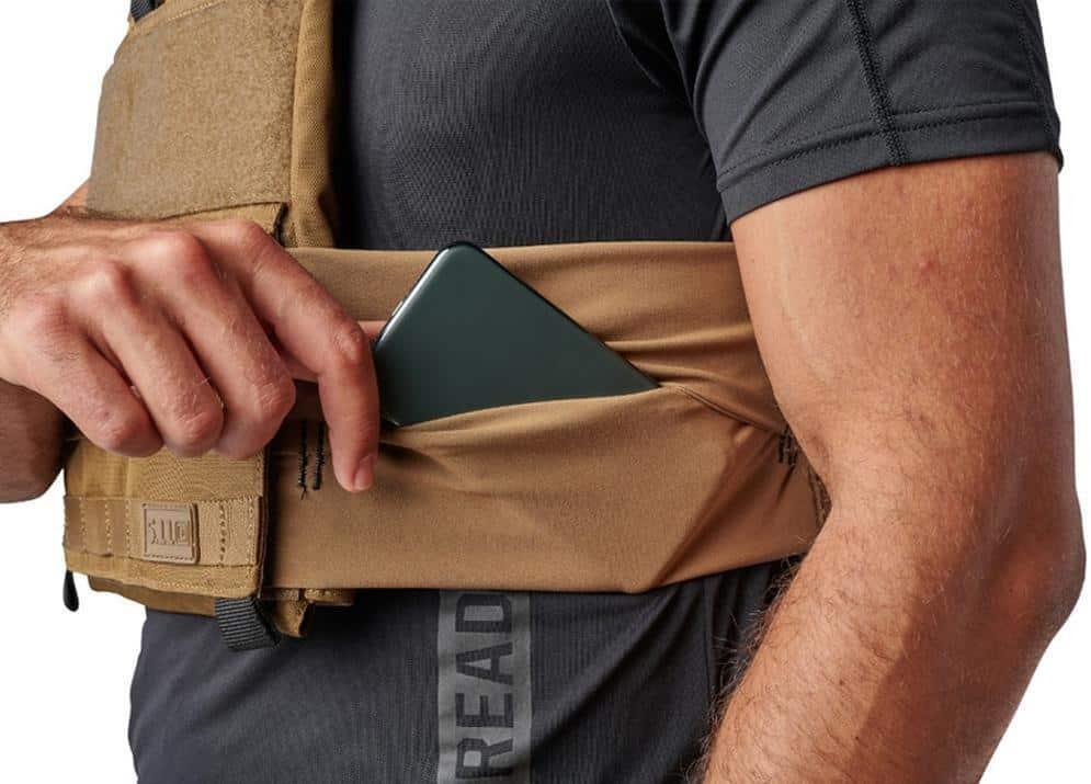 Rogue 5.11 TacTec Trainer Weight Vest pocket